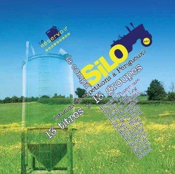 livret-silo_12p-2.qxp 02/11/2006 16:51 Page 1 - Le Sans Réserve