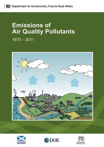 Emissions of Air Quality Pollutants: 1970 - 2011 - UK-Air - Defra