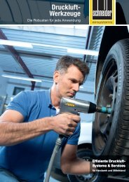 Druckluft- Werkzeuge - Schneider-Airsystems