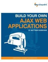 Build Your Own AJAX Web Applications - CETL