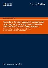 Identity in foreign language learning and teaching ... - EnglishAgenda