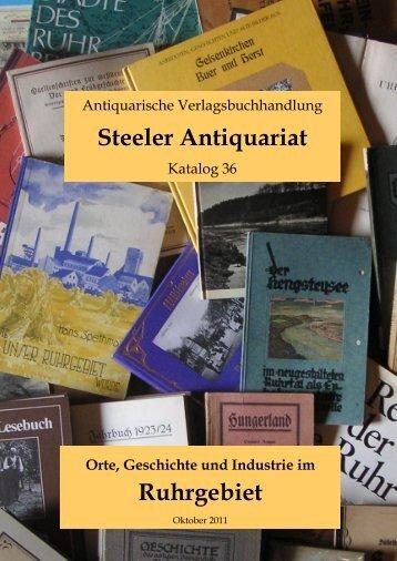Steeler Antiquariat Ruhrgebiet - Das Antiquariat im Ruhrgebiet