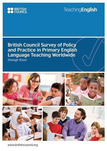 British Council Survey of Policy and Practice in ... - EnglishAgenda