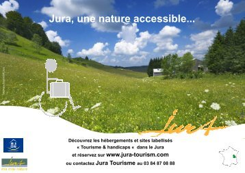 Jura, une nature accessible... - Handi ressources