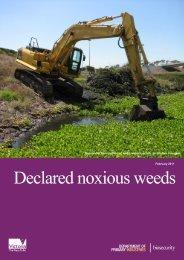 Declared noxious weeds - Civil Contractors Federation