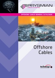 TEOF Offshore Cables - Prysmian Group