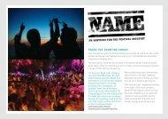 Name Festival Creds Nov11.pdf - Name PR