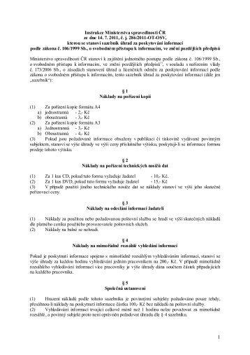 Instrukce Ministerstva spravedlnosti čj. 286/2011-OT-OSV ze dne 17 ...