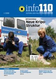 Neue Kripo- Struktur - Polizei Brandenburg - Brandenburg.de
