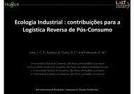 contribuições para a Logística Reversa de Pós-Consumo Logística ...