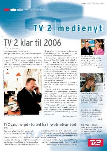 TV 2 klar til 2006