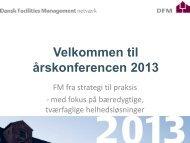 Velkomst og introduktion til konferencen - Dansk Facilities ...