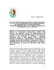 con la dichiarazione dell'on. mirko - Comitato Tricolore per gli Italiani ...