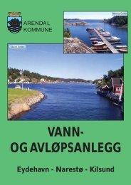 kjemisk renseanlegg på Narestø - Arendal kommune