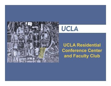 Presentation Materials - UCLA Academic Senate