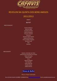 reveilon na quinta dos bons amigos 2011/2012 - O Nosso Casamento