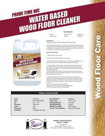 Bona Pro Series Hardwood Floor Cleaner Msds