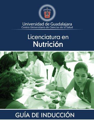 Licenciatura en Nutrición - Centro Universitario de Ciencias de la ...