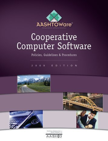Cooperative Computer Software - AASHTOWare Software