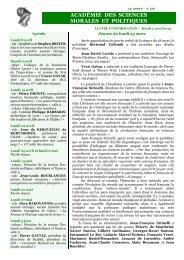 mardi 02 avril 2013 - Académie des sciences morales et politiques