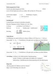 1 Elektromagnetische Wellen