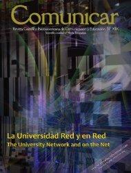 Revista Comunicar 37: La Universidad Red y en Red