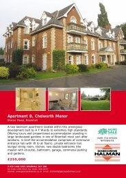 Apartment 8, Chelworth Manor
