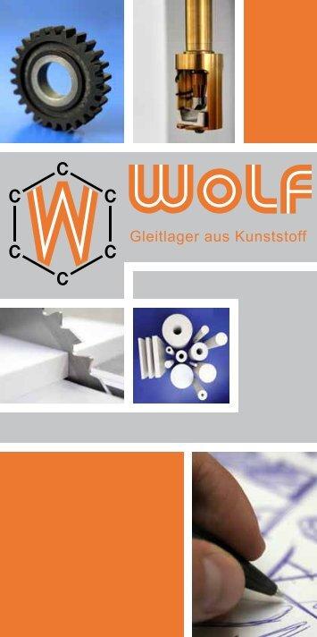 Gleitlager aus Kunststoff - Wolf Kunststoff-Gleitlager GmbH