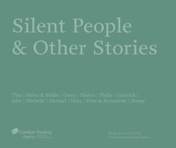Silent People and Other Stories (2007) - Combat Poverty Agency