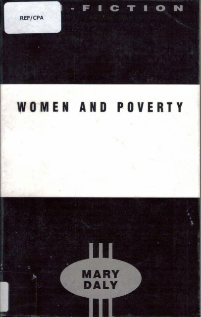 Women and Poverty (1989) - Combat Poverty Agency