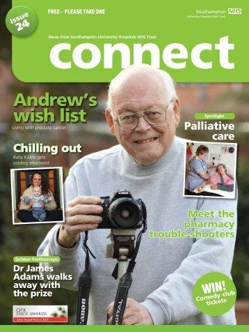 Andrew's wish list - University Hospital Southampton NHS ...