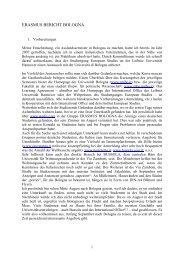 Bologna - Institut für Politische Wissenschaft der Universität Hannover