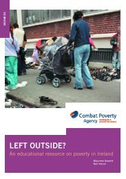 Left Outside? - Combat Poverty Agency