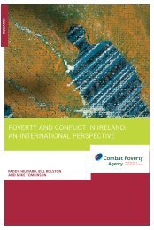 Poverty & Conflict in Ireland: an international perspective (2005)