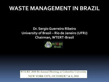 WASTE MANAGEMENT IN BRAZIL