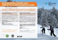 Natur und Energie auf dem Mt-Soleil 2012-13 - Jura bernois Tourisme