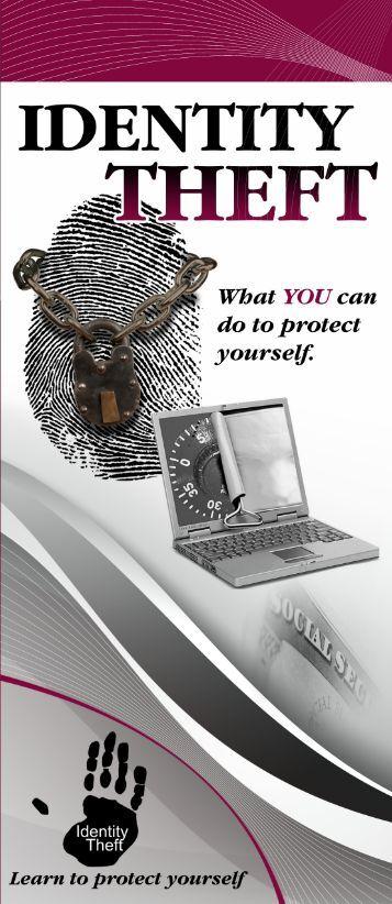 Identity Theft Brochure