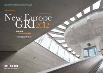 New Europe GRI 2012, Warsaw - giese & partner