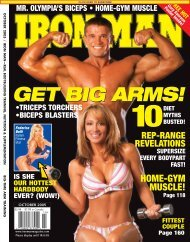GET BIG ARMS! - Iron Man Magazine
