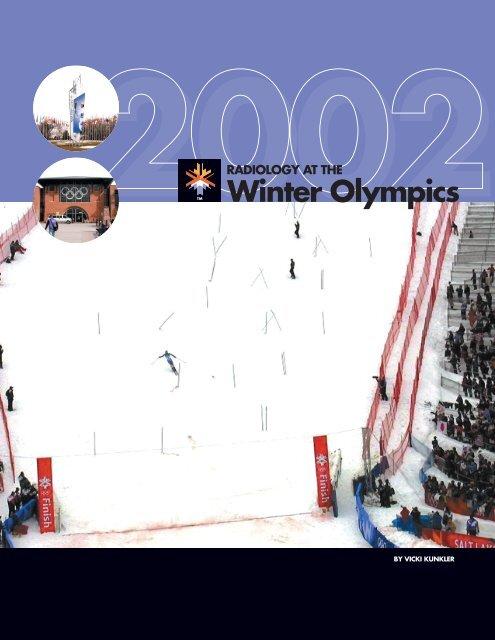 radiology at the winter olympics (pdf*)