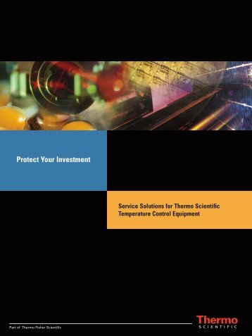 Protect Your Investment: Service Solutions for Thermo Scientific