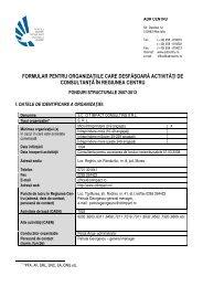 SC Cit Impact Consulting SRL Tg. Mures. - ADR Centru