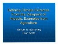 Defining Climate Extremes from the viewpoint of impacts