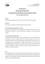 Projektskizze AWO Sprachcamps 2011 - Fachdienste für Migration ...
