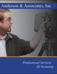 Virtual Surveying and Scanning Services - Anderson & Associates, Inc.
