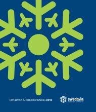 SWEDAVIA ÅRSREDOVISNING 2010