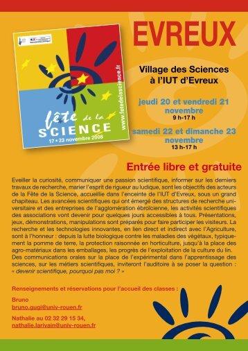 Téléchargez la plaquette de présentation du Village des Sciences