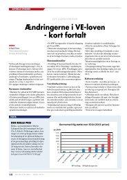 Ændringerne kort fortalt, artikel i Naturlig Energi, marts 2013
