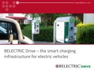BELECTRIC Drive – the smart charging infrastructure for electric ...