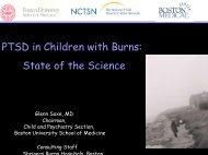 PTSD in Children with Burns - American Burn Association